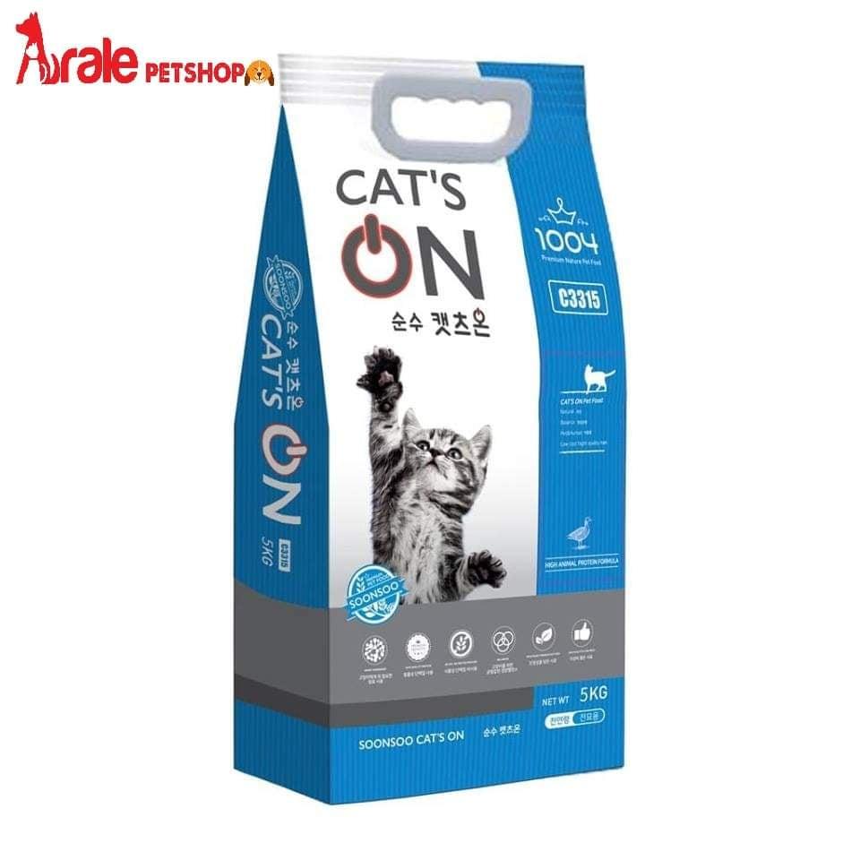 THỨC ĂN HẠT DÀNH CHO MÈO MỌI LỨA TUỔI CAT'S ON