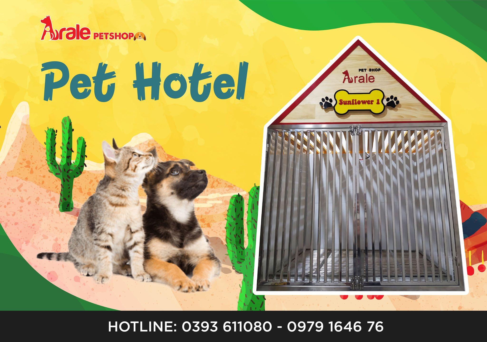 PET HOTEL - DỊCH VỤ TRÔNG GIỮ CHÓ