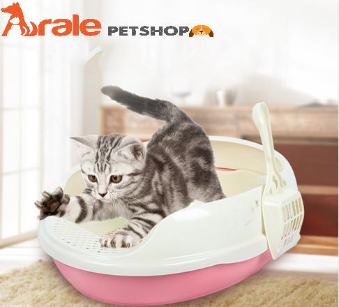 Hiện có nhiều nơi đang bán Khay vệ sinh cho mèo nhưng không phải chất lượng lúc nào cũng tốt. Vậy nên điều bạn cần chú ý đầu tiên chính là lựa chọn cửa hàng thú cưng uy tín để mua nhà vệ sinh cho mèo. Arale Petshop chuyên cung cấp sản phẩm uy tín, chất lư