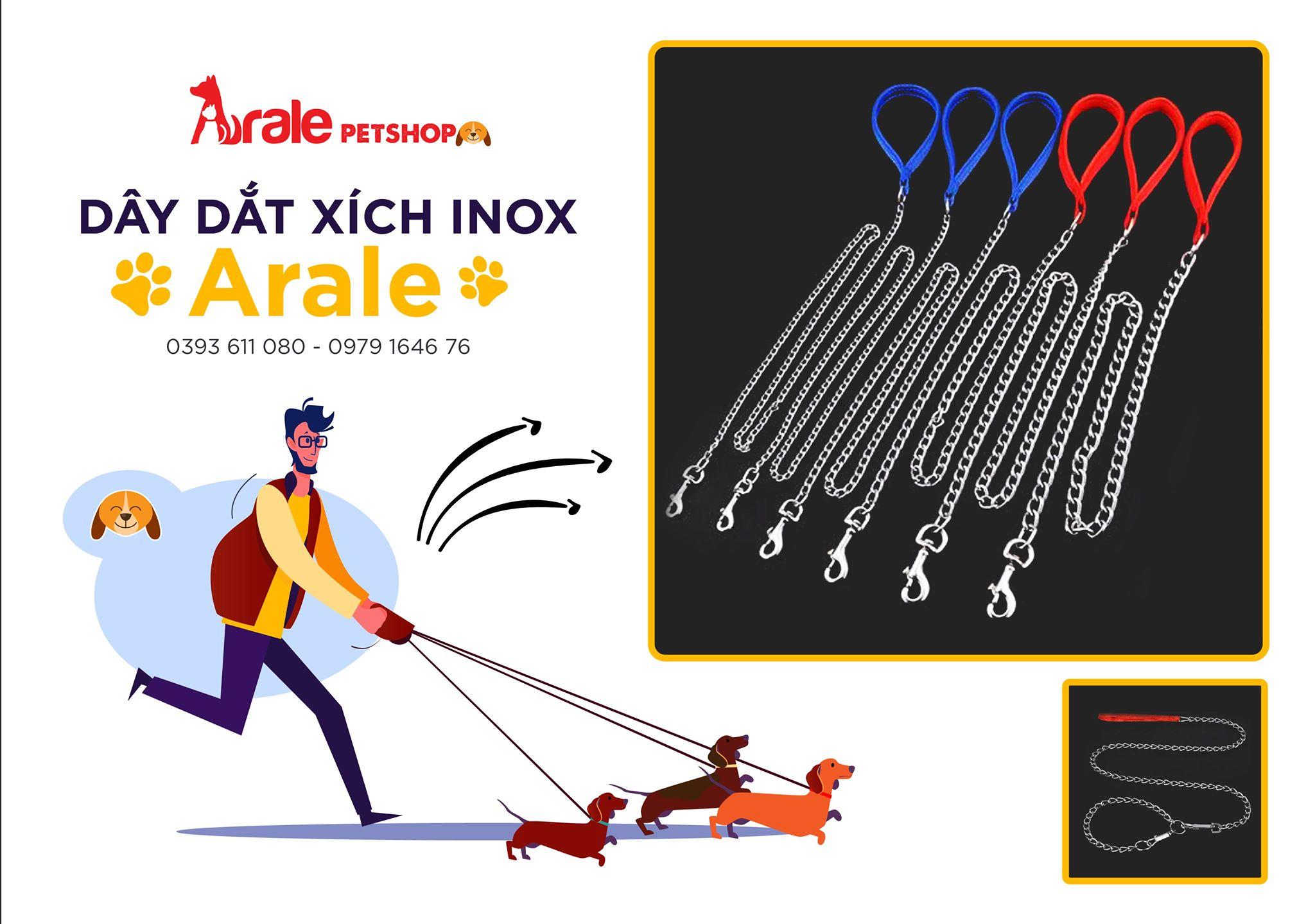 DÂY DẮT XÍCH INOX ARALE