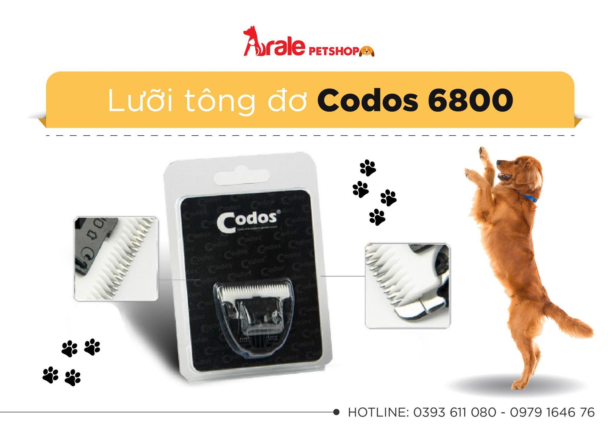 LƯỠI TÔNG ĐƠ CODOS 6800