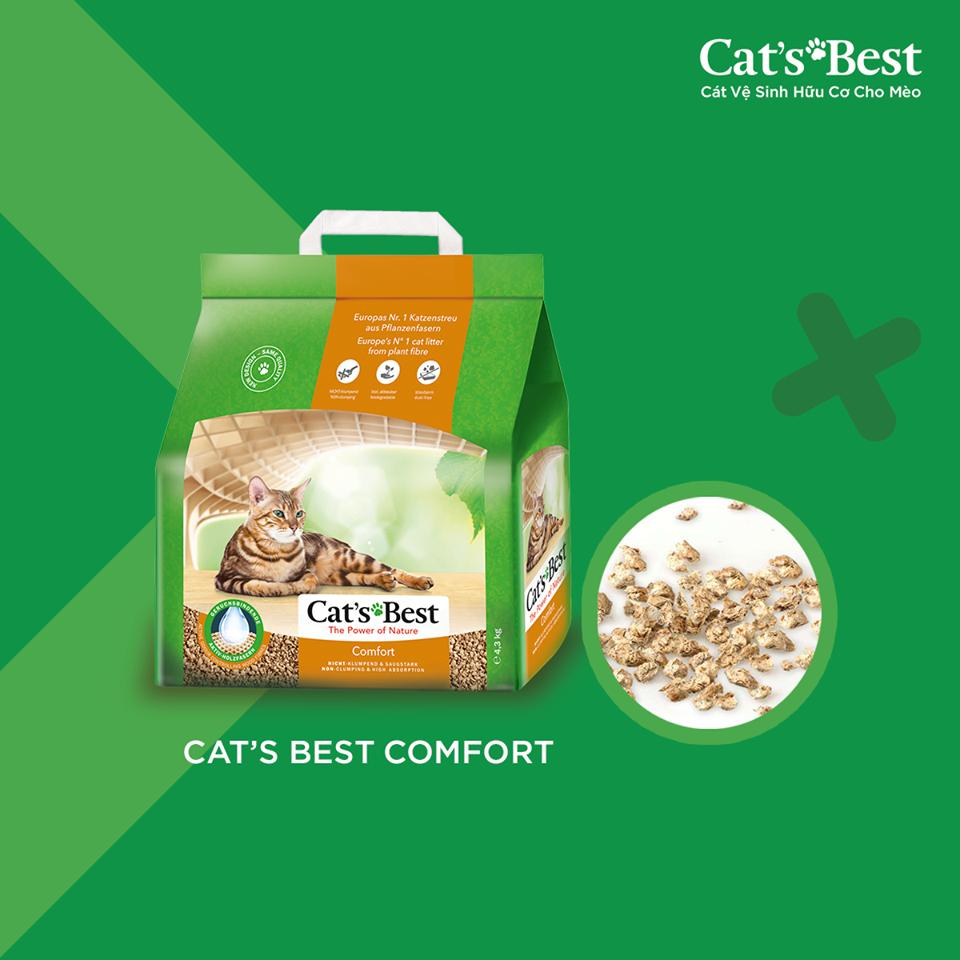 CÁT GỖ VỆ SINH CAT'S BEST COMFORT