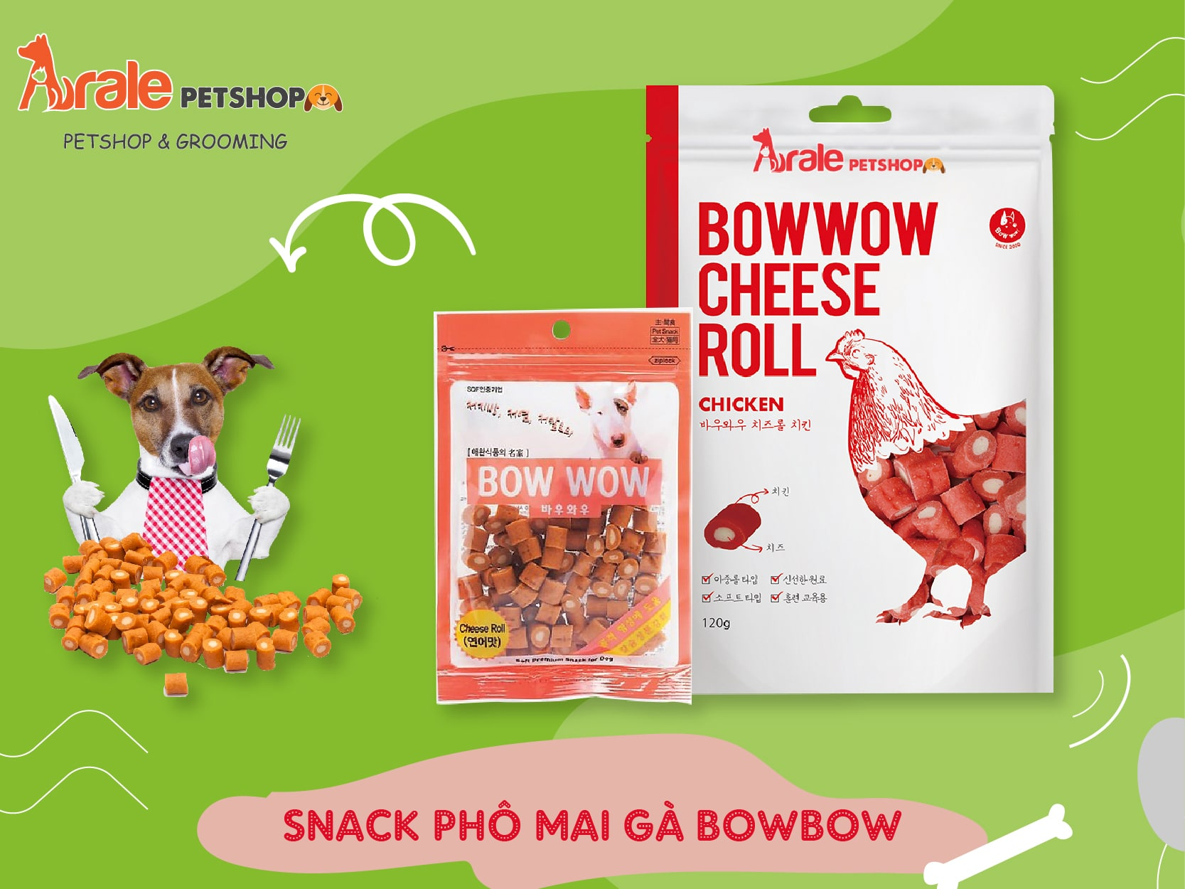 bánh thưởng cho chó mèo, thơm ngon, bổ dưỡng