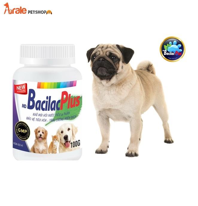 MEN VI SINH BACILAC PLUS là dạng dinh dưỡng đặc biệt dùng kèm với thức ăn hàng ngày, giải quyết mùi hôi tận gốc, đem lại cơ thể thật sự khỏe mạnh từ bên trong cho thú cưng ở mọi giai đoạn phát triển.