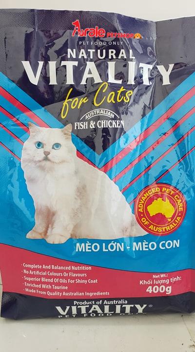 THỨC ĂN CHO MÈO LỚN VÀ MÈO CON VITA CAT