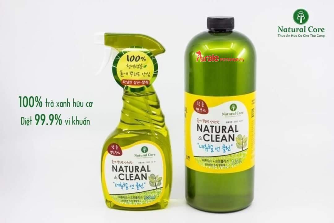 XỊT KHỬ MÙI DIỆT KHUẨN NATURAL&CLEAN