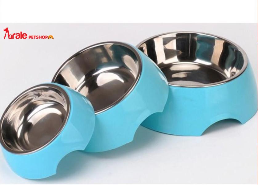 tô nhựa cho chó mèo, tiện lợi, dễ vệ sinh