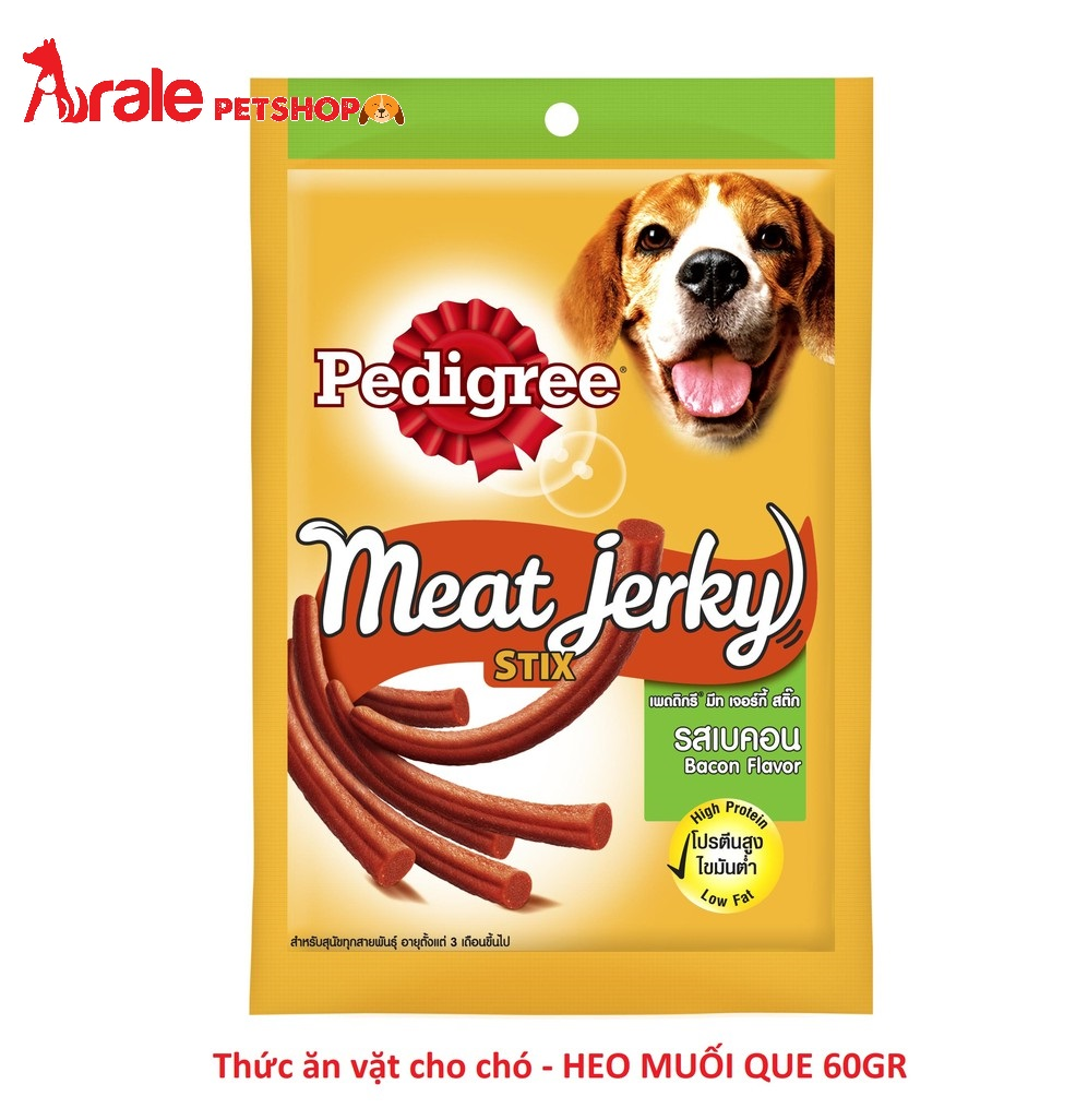 MEAT JERKY - HEO MUỐI QUE CHO CHÓ