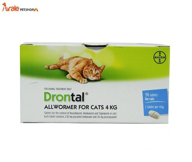 THUỐCSỔGIUNCHOMÈO hiệu quả tức thì, an toàn cho mèo với các thành phần Praziquantel và Pyrantel embonate giúp sổ các loại giun như giun móc, giun đũa, giun dẹp
