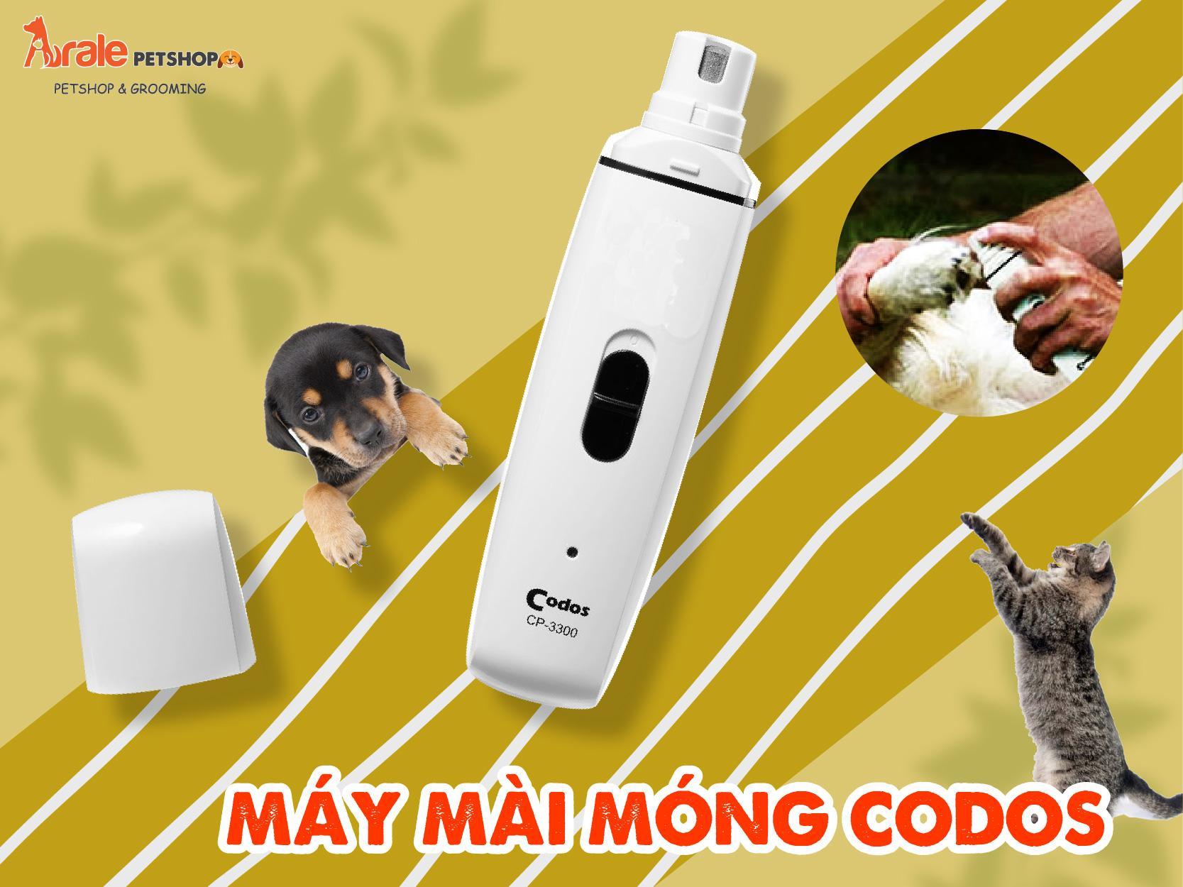 Với MÁY MÀI MÓNG CODOSCP-3300 sẽ giúp các bạn cắt móng cho thú cưng một cách dễ dàng.