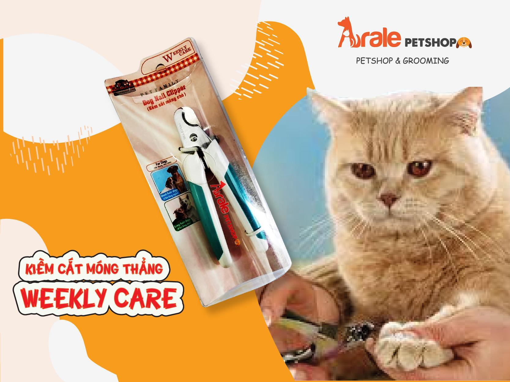kiềm cắt móng chất liệu thép không ghỉ, bền và dễ sử dụng giúp bạn dễ dàng cắt móng cho thú cưng