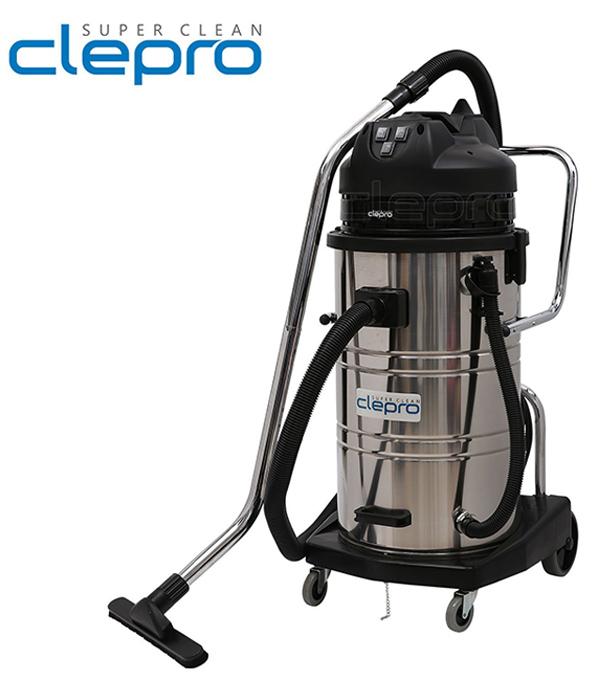Máy hút bụi - nước CLEPRO S3/60 (3 motor)