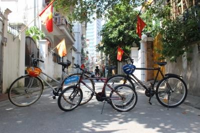 Cho thuê xe đạp với giá khó tin!