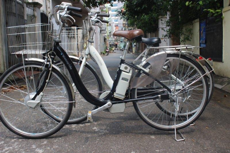 Eneloop bike - xe trợ lực Nhật