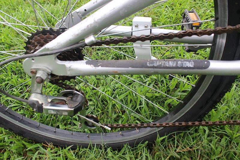 Xe đạp nhật bãi địa hình Captain Stag - xe Nhật