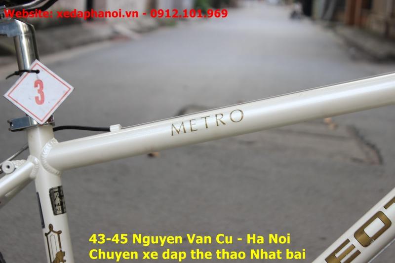 Xe đạp Nhật bãi Peugeot metro