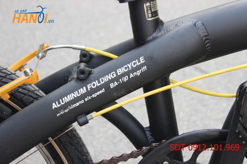 Xe đạp gập Nhật bãi Wachsen BA - 100