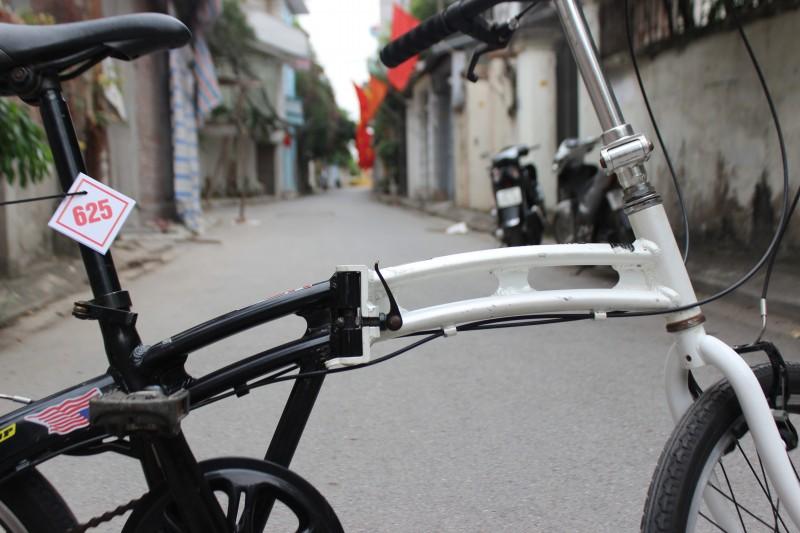 Xe đạp gập Nhật