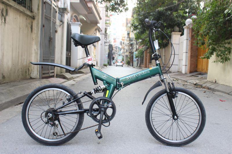 Xe đạp gập Mercedes