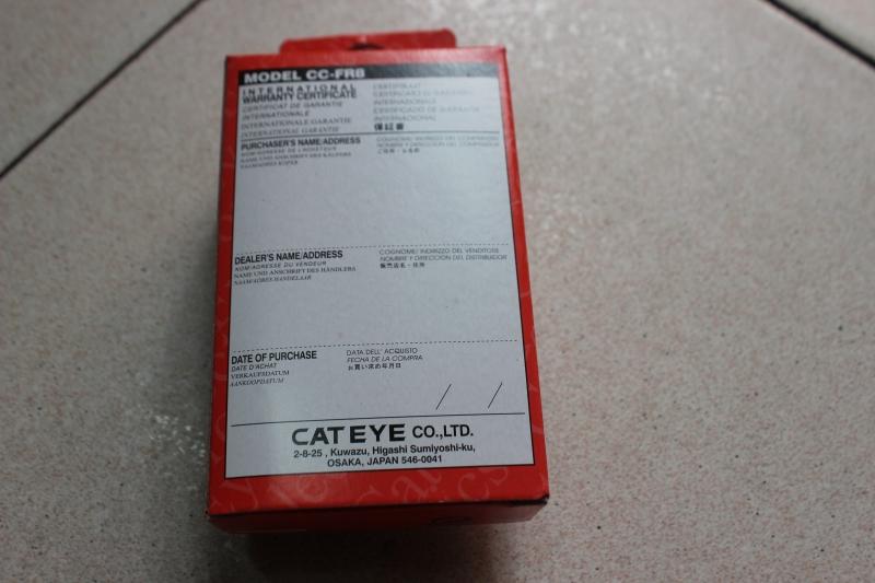 Đồng hồ tốc độ Cateye Velo 8