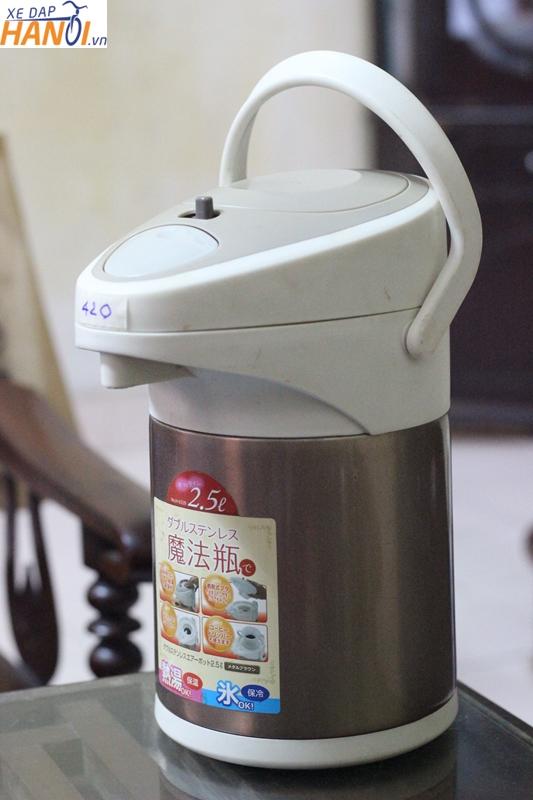 Bình nước giữ nhiệt Nhật bãi loại dung tích lớn, giá từ 250n đên 450n