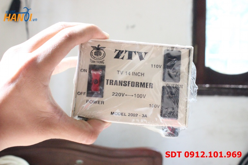 Bộ chuyển điện từ 220V sang 110V