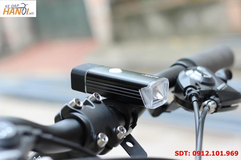 Đèn pin xe đạp siêu sáng Machfally (sạc USB)