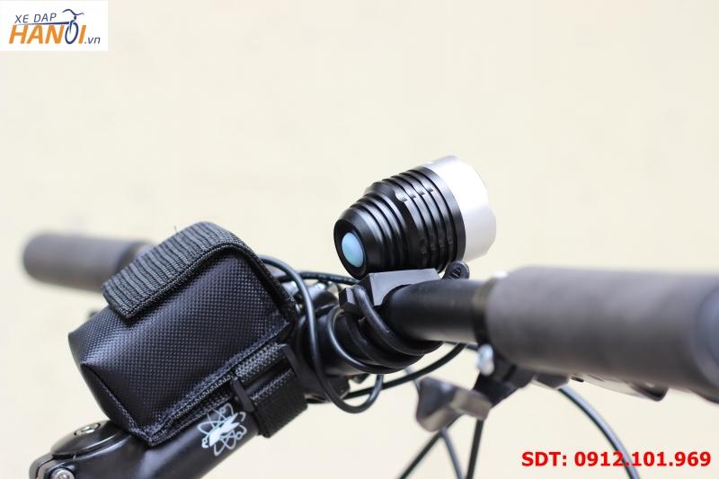 Bộ đèn pin siêu sáng xe đạp Hàng China