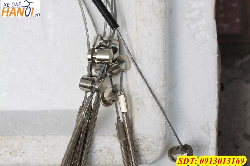 Vỏ ruột dây phanh liền bộ 1.6 m