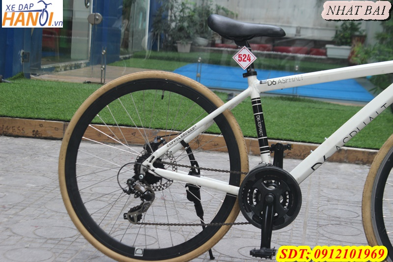 Xe đạp thể thao Touring Nhâp bãi D6 ASPHALT đến từ Japan