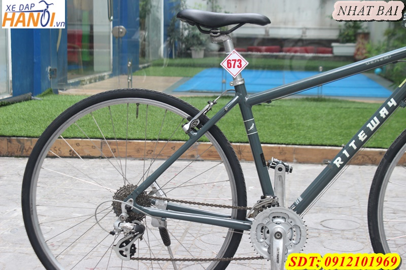 Xe đạp thể thao Touring Nhât bãi RITEWAY đến từ Japan