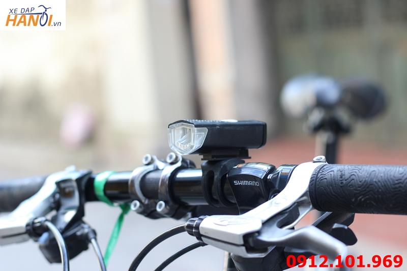 Đèn pha xe đạp siêu sáng (sạc USB) - China