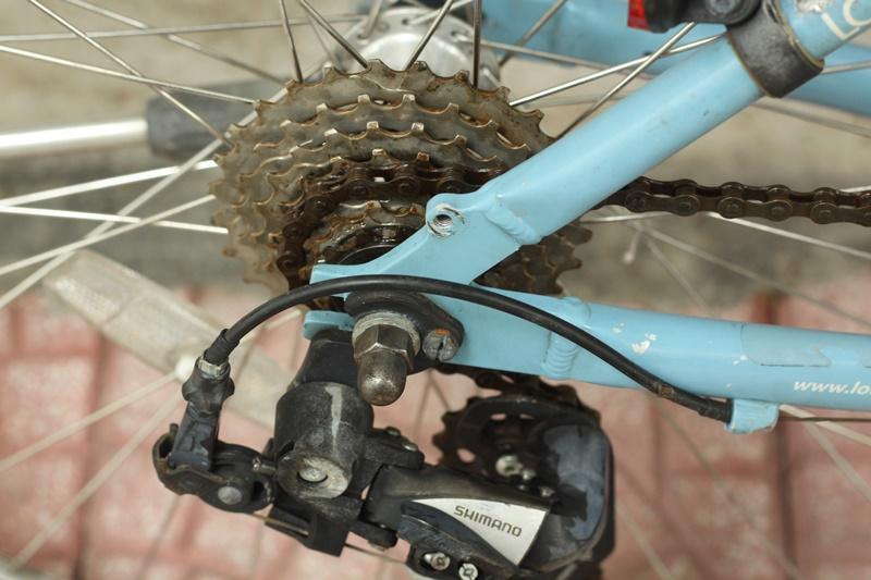 Xe đạp Touring Nhật bãi Louis Garneau TrII đến từ Canada-