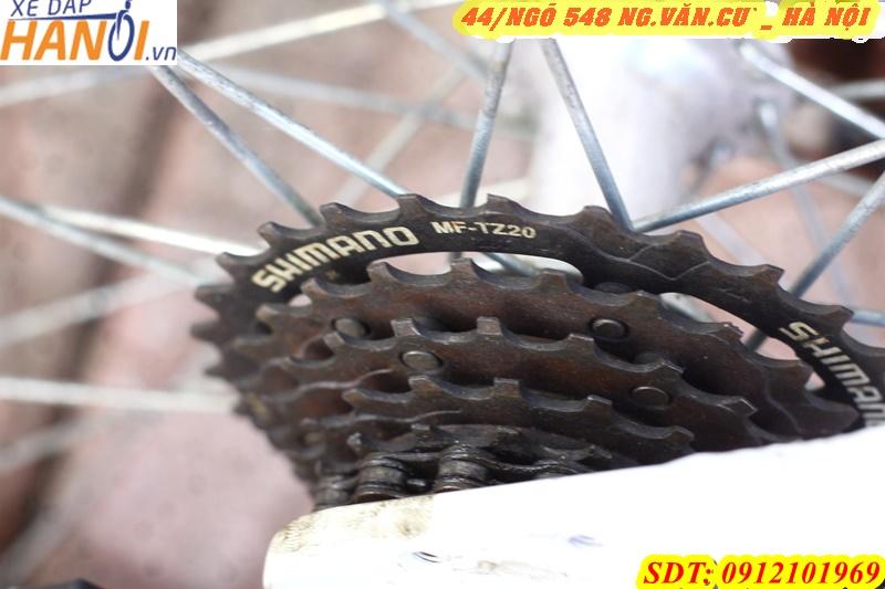 Xe đạp thể thao mini Nhật bãi TRENDY CỦA HÃNG BRIDGESTONE JAPAN