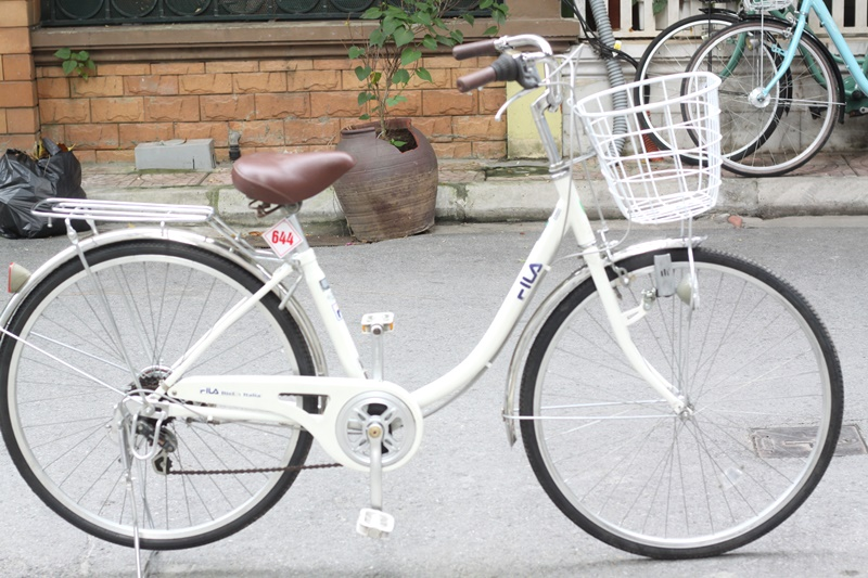Xe đạp Mini Nhât bãi hiệu FILA đến từ Japan