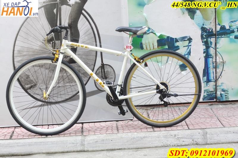 Xe đạp thể thao touring Nhật bãi LIG ĐẾ TỪ JAPAN