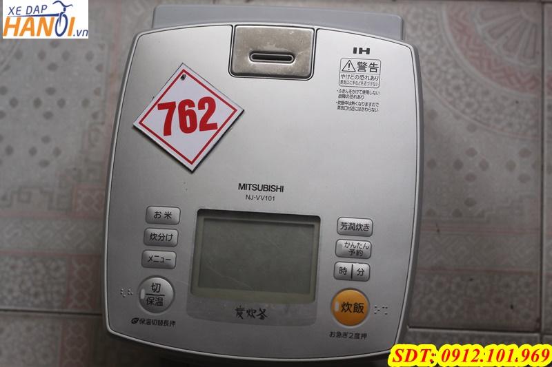 Dư dùng 2 nồi cơm điện Mitsubishi và Panasonic 110v - 1200W - 1,5L