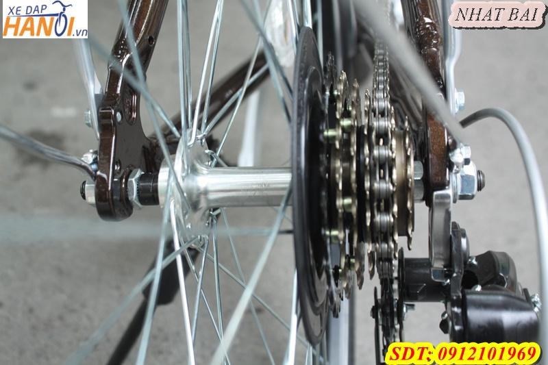 Xe đạp thể thao Touring Nhât bãi LIFE đên từ Taiwant - xe mới