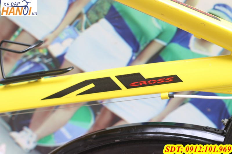 Xe đạp touring Nhật bãi Alcross 2 đén từ Japan