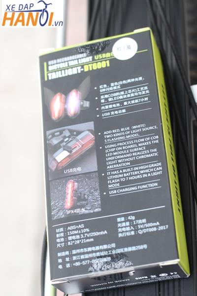Đèn hậu xe đạp loại tốt - made in Chiana