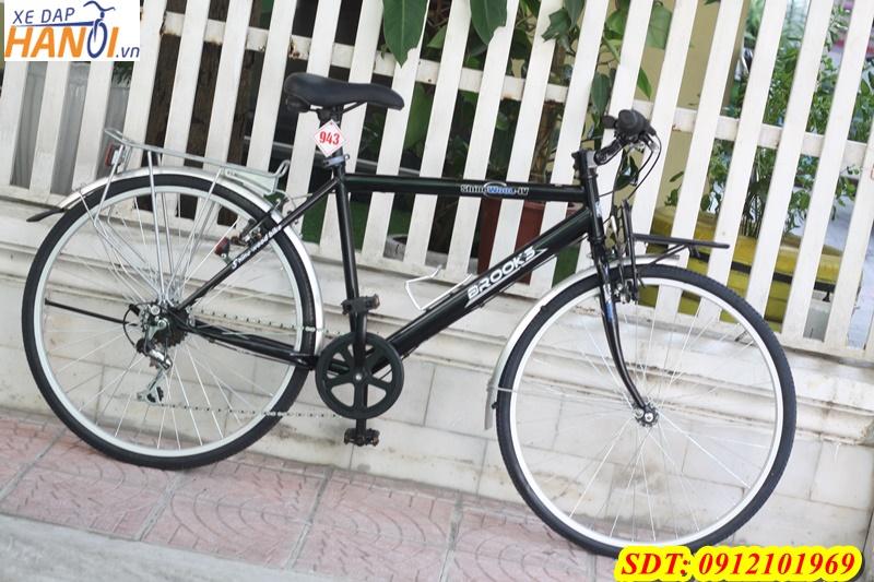 Xe đạp Touring Nhât bãi BROOKS đến từ Japan