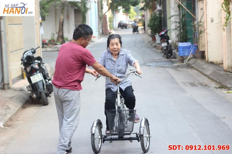 Xe đạp 3 bánh Nhật bãi độc lạ