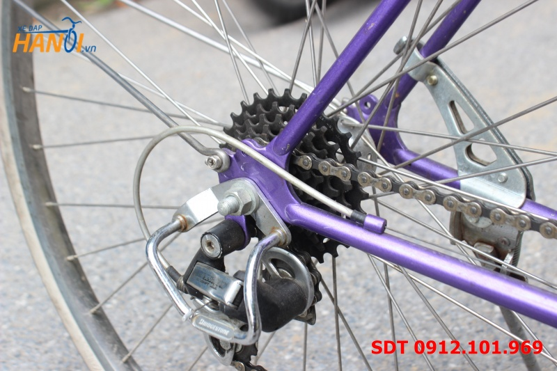 Xe đạp đua Nhật khung thép