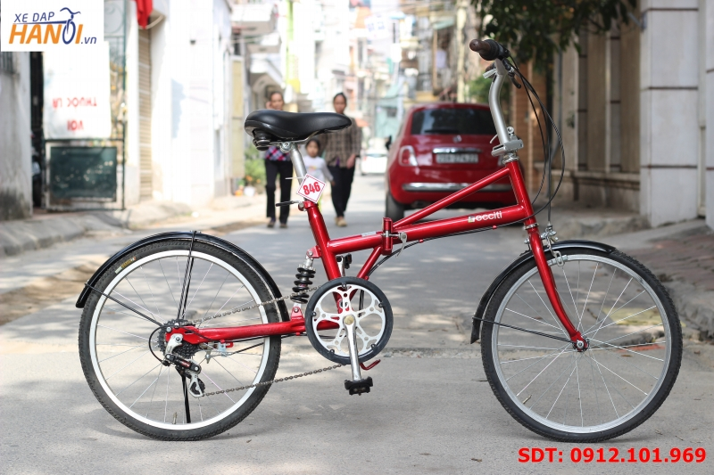 Xe đạp gập Nhật bãi Decciti