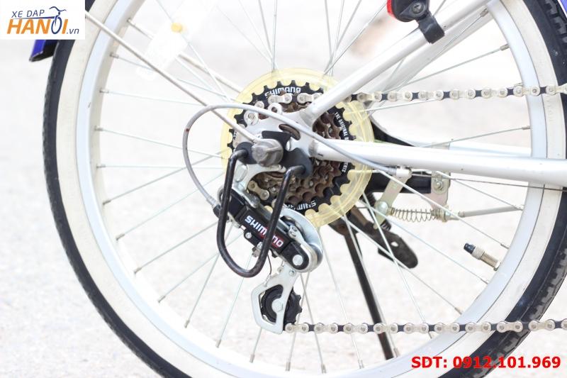 Xe đạp gập Nhật bãi Folding