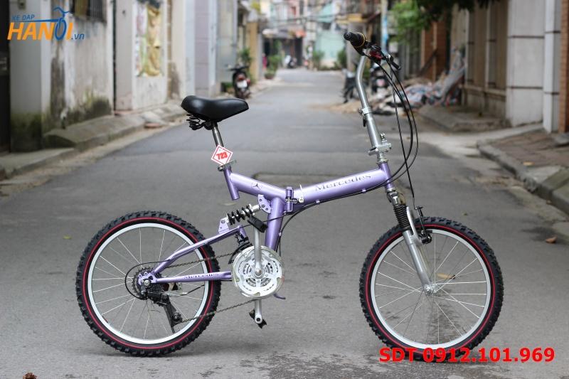 Xe đạp gập Nhật bãi Mercedes