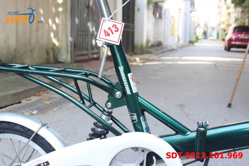 Xe đạp gập Nhật bãi Sneaker