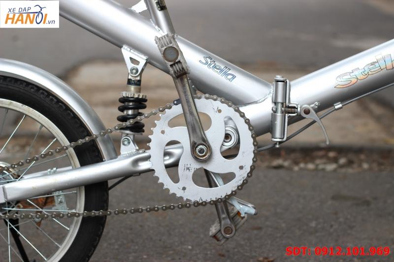 Xe đạp gập Nhật bãi Stella