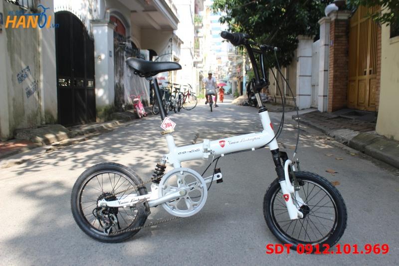 Xe đạp gập Nhật bãi Torino Lamborghini