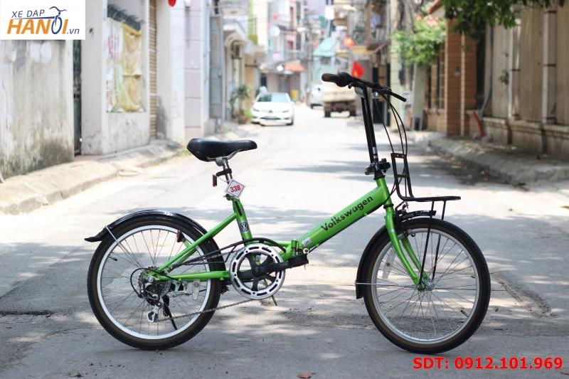 Xe đạp gập Nhật bãi Volkswagen (đã bán)